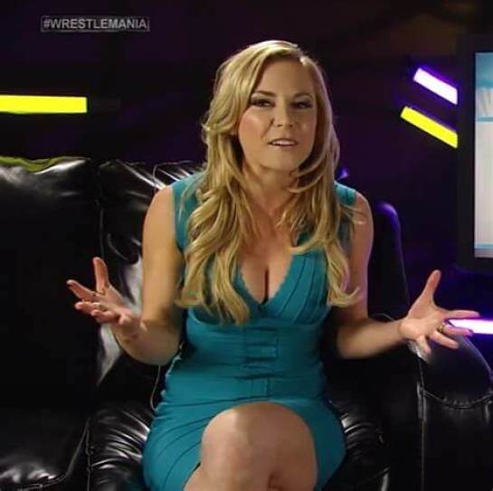 Renee Young sexy busty boobs