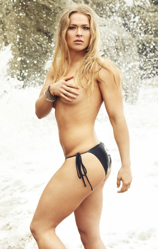 Ronda Rousey Sexy Boobs Pictures Topless