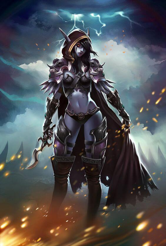 Sylvanas awesome picture