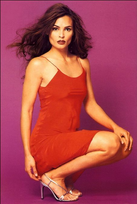 Talisa Soto Hot in Red Dress