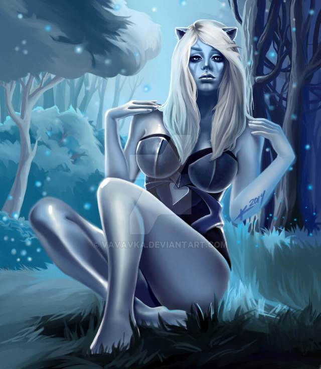 Traxex the Drow Ranger sexy look pic