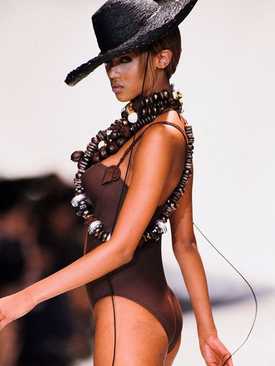 Tyra Banks Hot in Hat