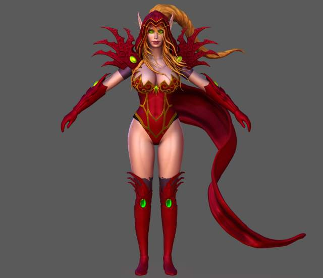 Valeera awesome thighs