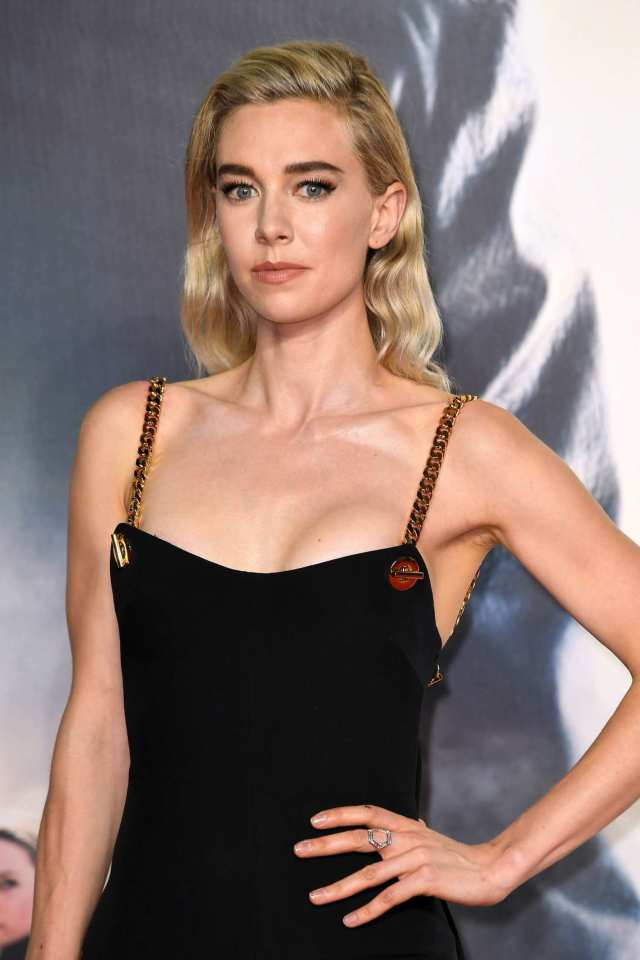 Vanessa Kirby sexy cleavages pic