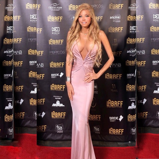 Wendy Starland on Red Carpet