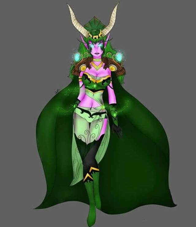 Ysera hot cleavage