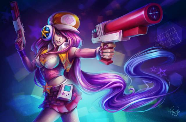 arcade miss fortune sexy look