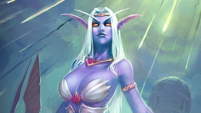 queen azshara angry face