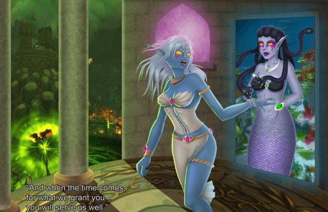 queen azshara awesome