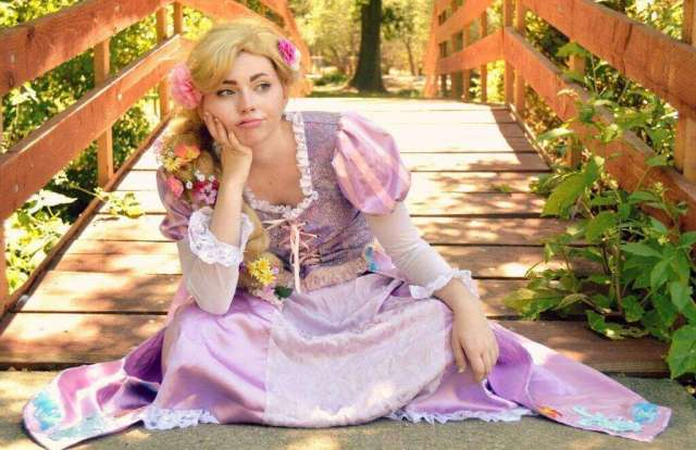 rapunzel waiting for someone