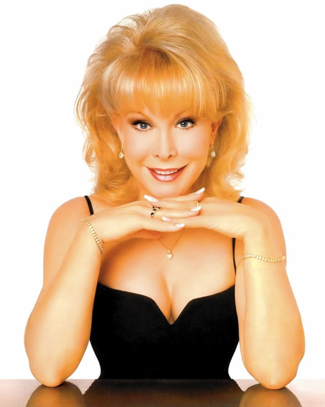 Barbara Eden CLEAVAGE