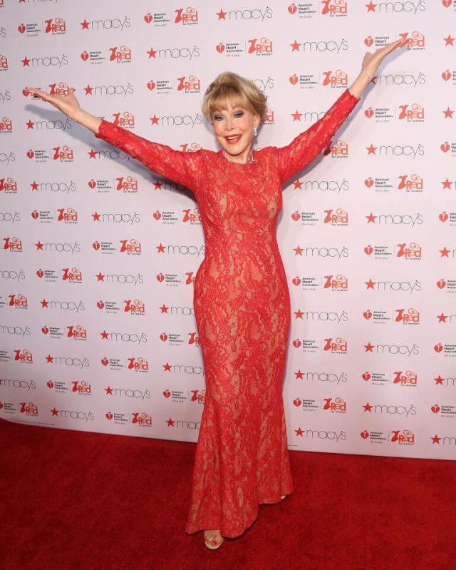 Barbara Eden SEXY RED DRESS PIC