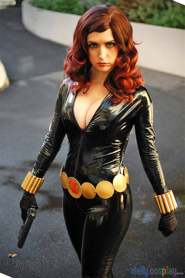 Black Widow sexy pictures