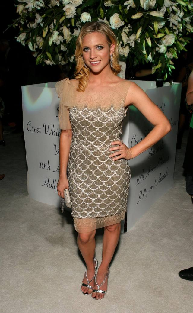 Brittany Snow hot dress pic