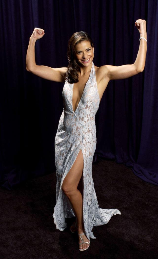 Constance Marie sexy cleavages photo