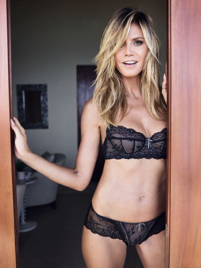 Heidi Klum sexy cleavage picture (2)