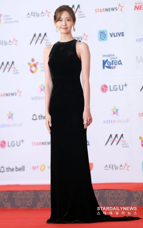 Im Yoona Hot in Black Dress