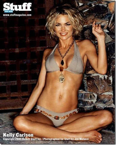 Kelly Carlson Hot in Bikini