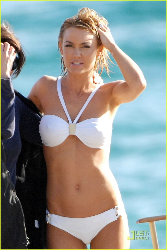 Kelly Carlson on Beach
