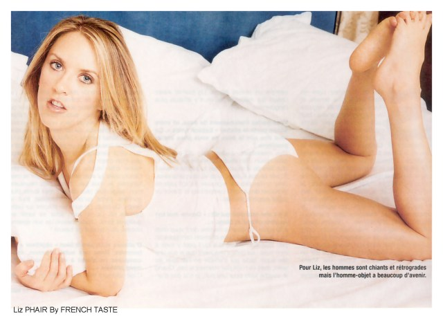 Liz Phair on Bed
