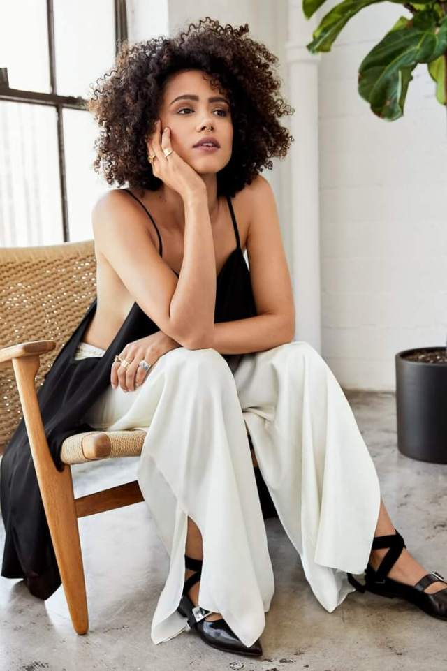 Nathalie Emmanuel hot look