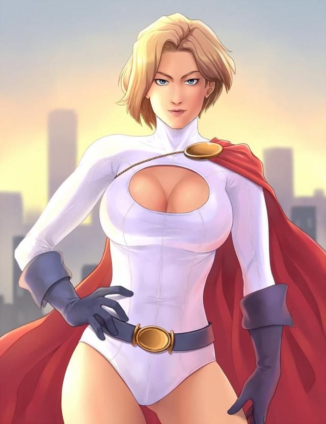 Power Girl awesome photo