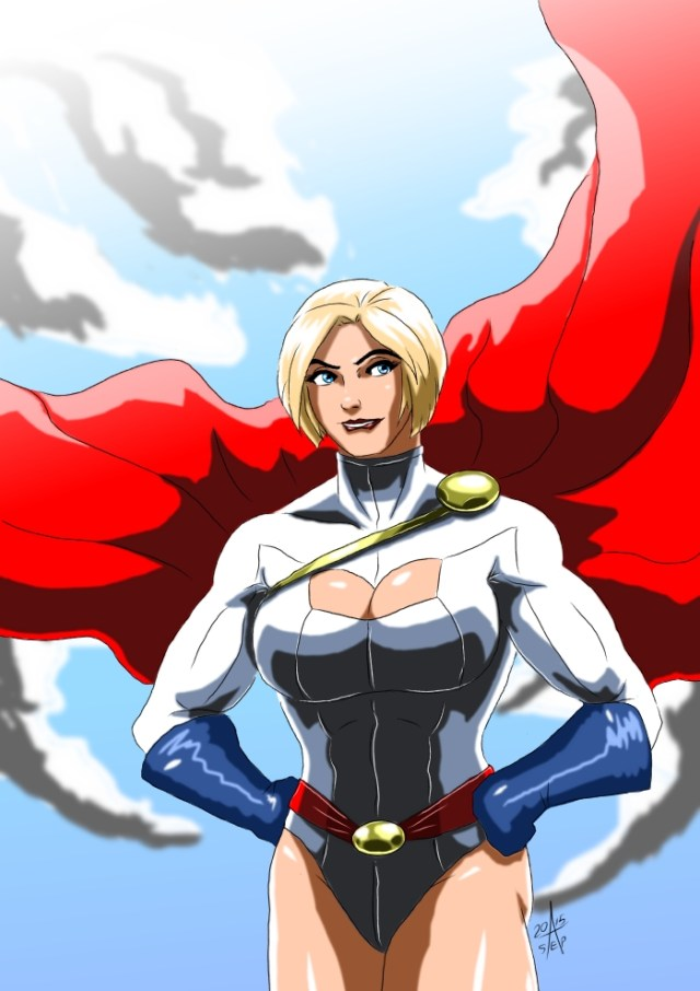 Power Girl sexy pic