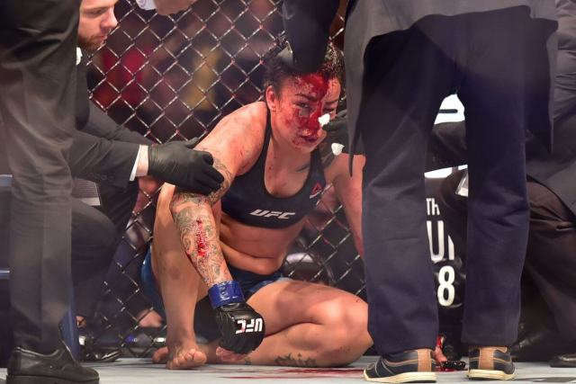 Raquel Pennington fighting (1)