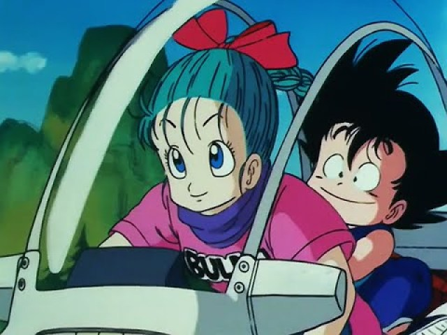 bulma looking nice