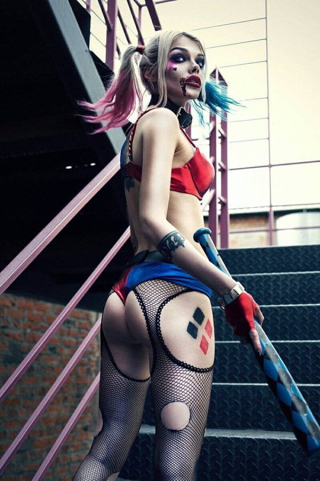 Harley quinn naked ass and tits 61 Hottest Harley Quinn Big Butt Pictures Are Heaven On Earth Best Of Comic Books