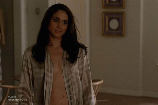 meghan markle topless