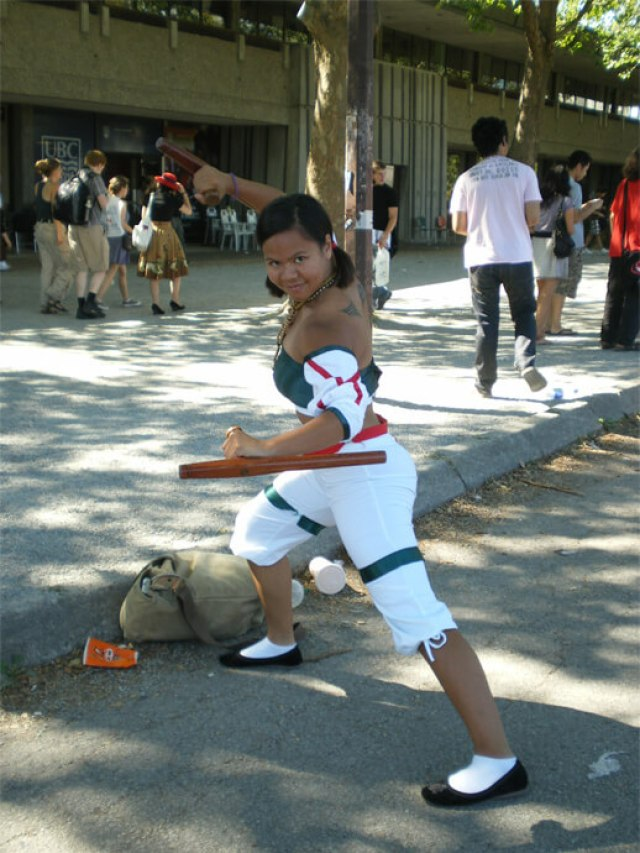 talim outdoor cosplay