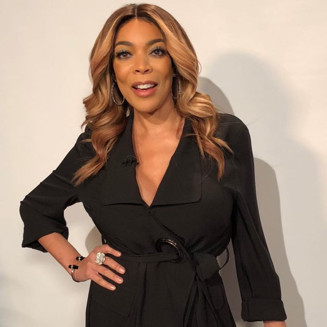 wendy williams black dress