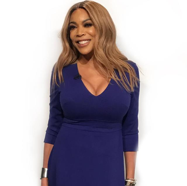 wendy williams blue dress