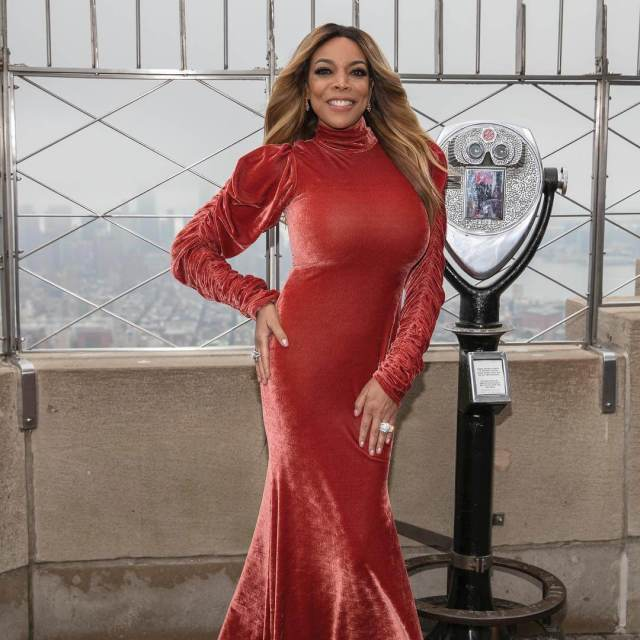 wendy williams red dress