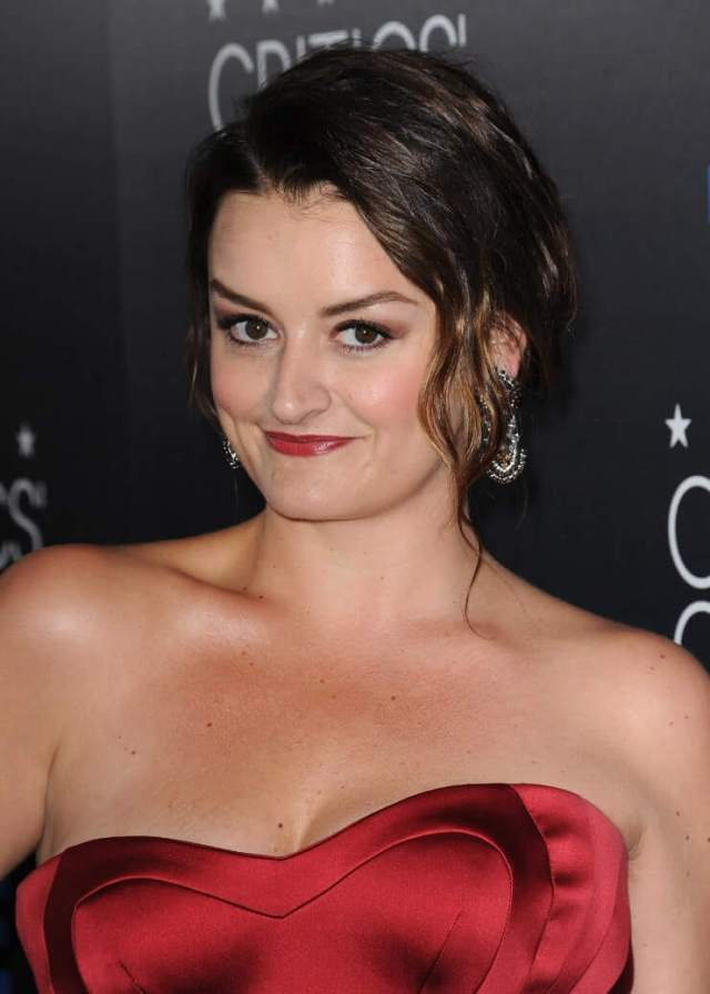 Alison Wright cleavage sexy pic
