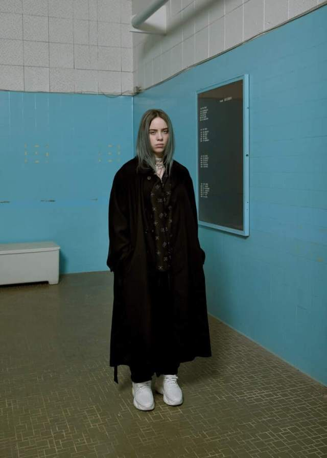 Billie Eilish hot side pics