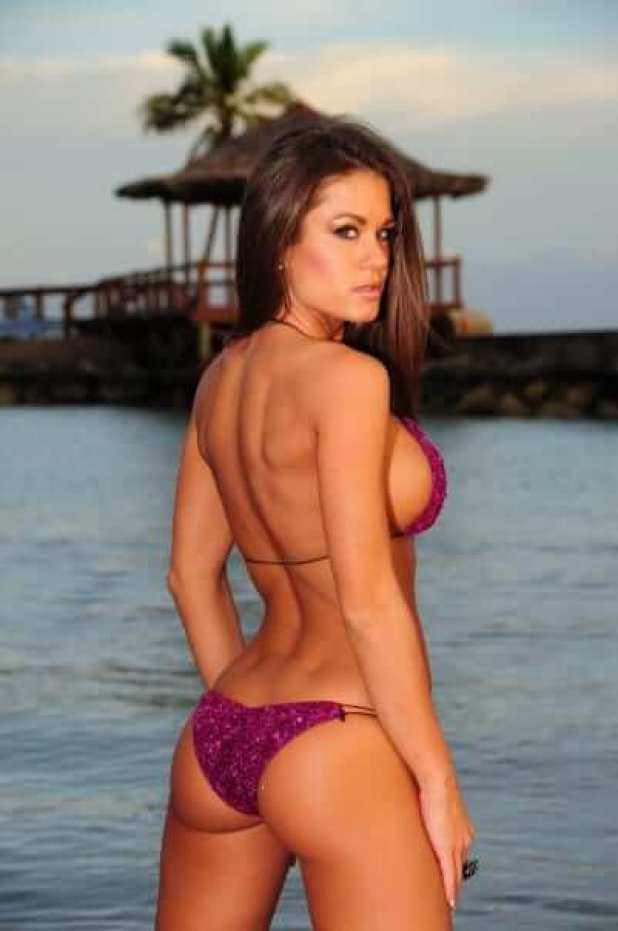 Brooke Tessmacher sexy ass pic