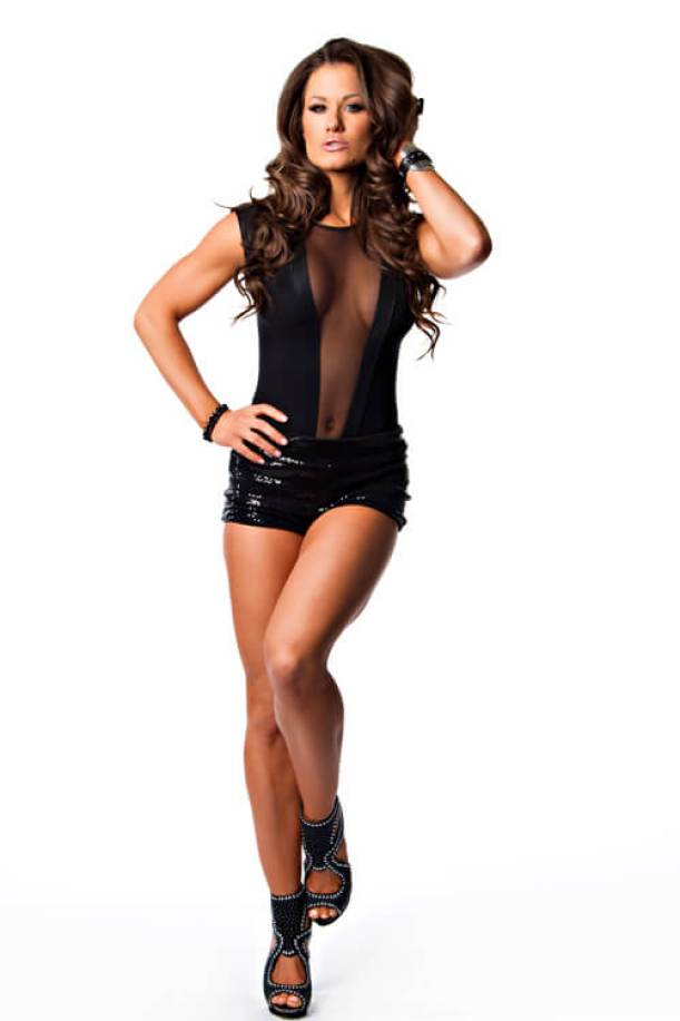Brooke Tessmacher sexy long legs pic