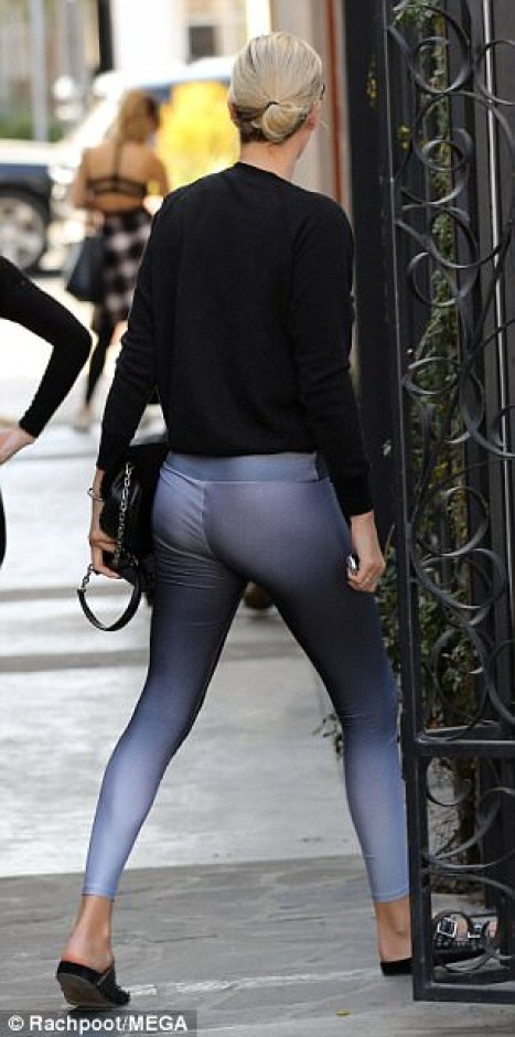 Charlize Theron sexy butt