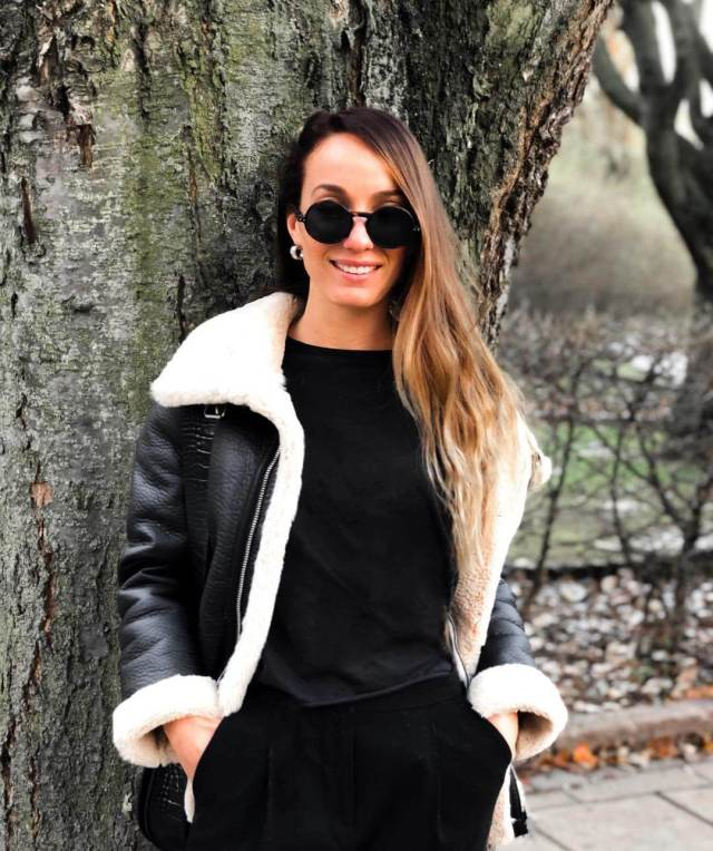 KOSOVARE ASLLANI awesome look