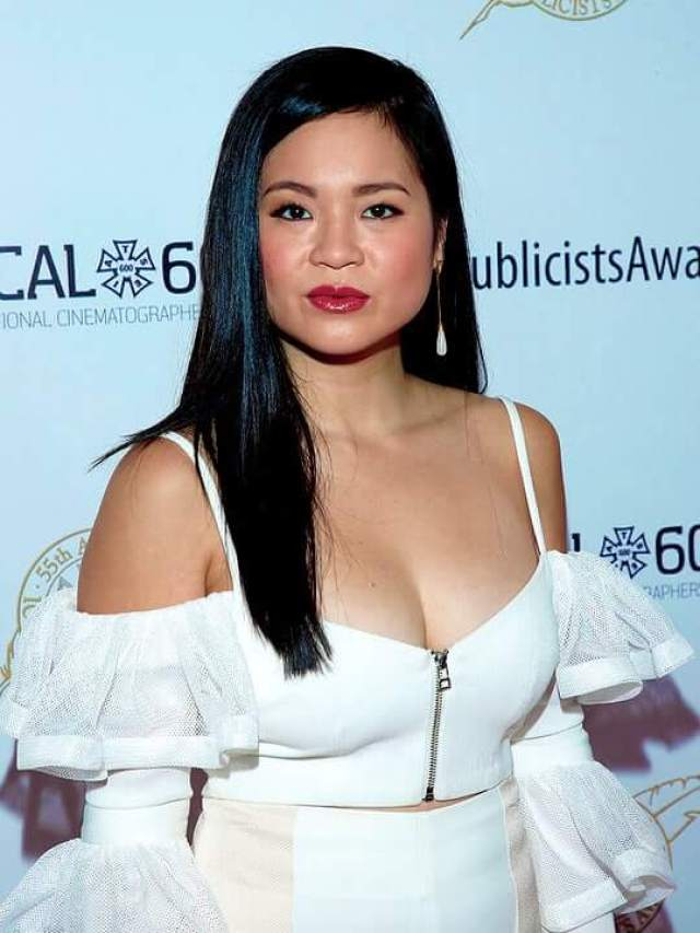 Kelly Marie Tran sexy cleavage
