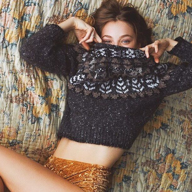 Kristine Froseth hot side pictures