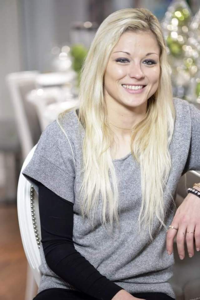 LAURE BOULLEAU sexy long hairs