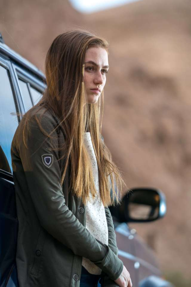 Madison Lintz hot side picture