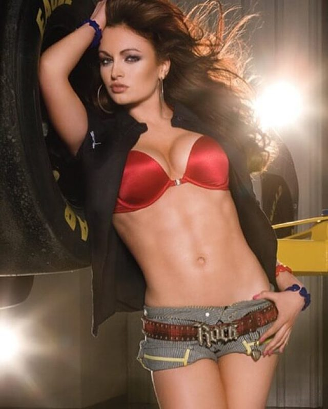 Maria Kanellis hot navel