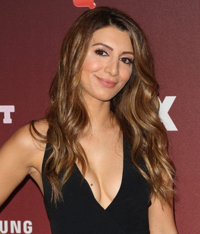 Nasim Pedrad sexy cleavage pic