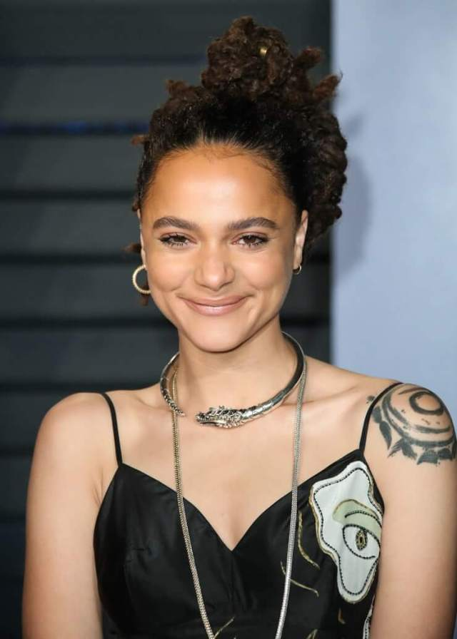 Sasha Lane sexy smile