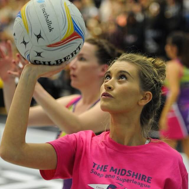 charley webb playing with ball