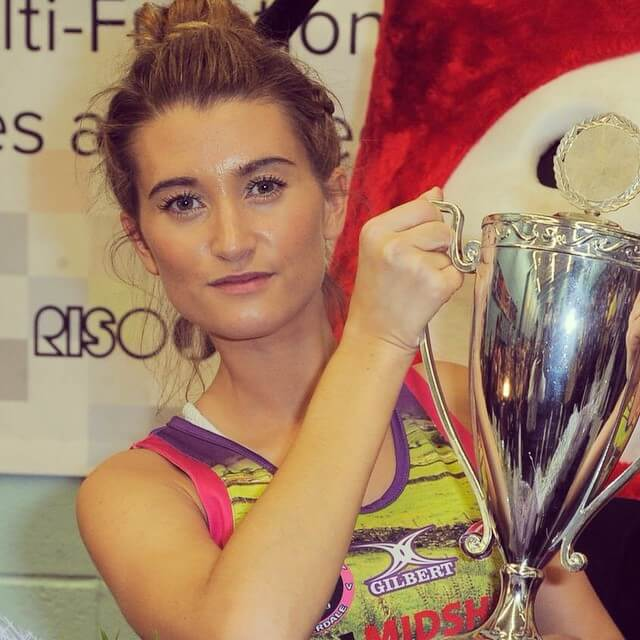 charley webb with cup